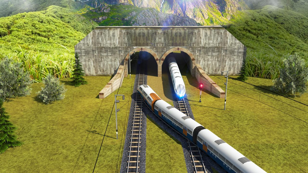 Android Indian Bullet Train Simulator Screen 1