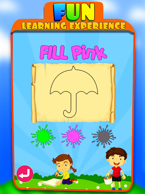 Android Kids Learning Educational Game Screen 9