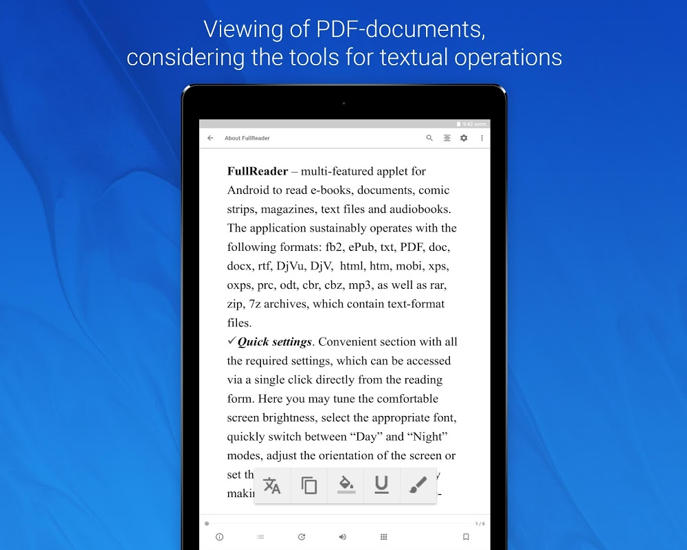 FullReader – e-book reader 4.0.4 Screen 12