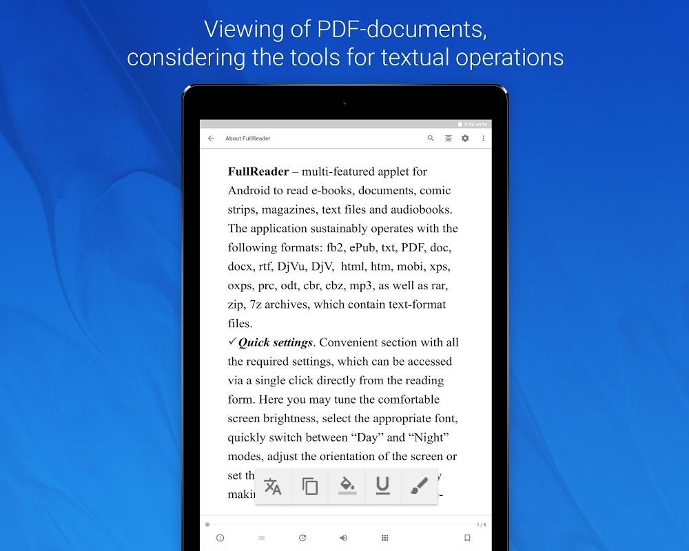 FullReader – e-book reader 4.0.4 Screen 12