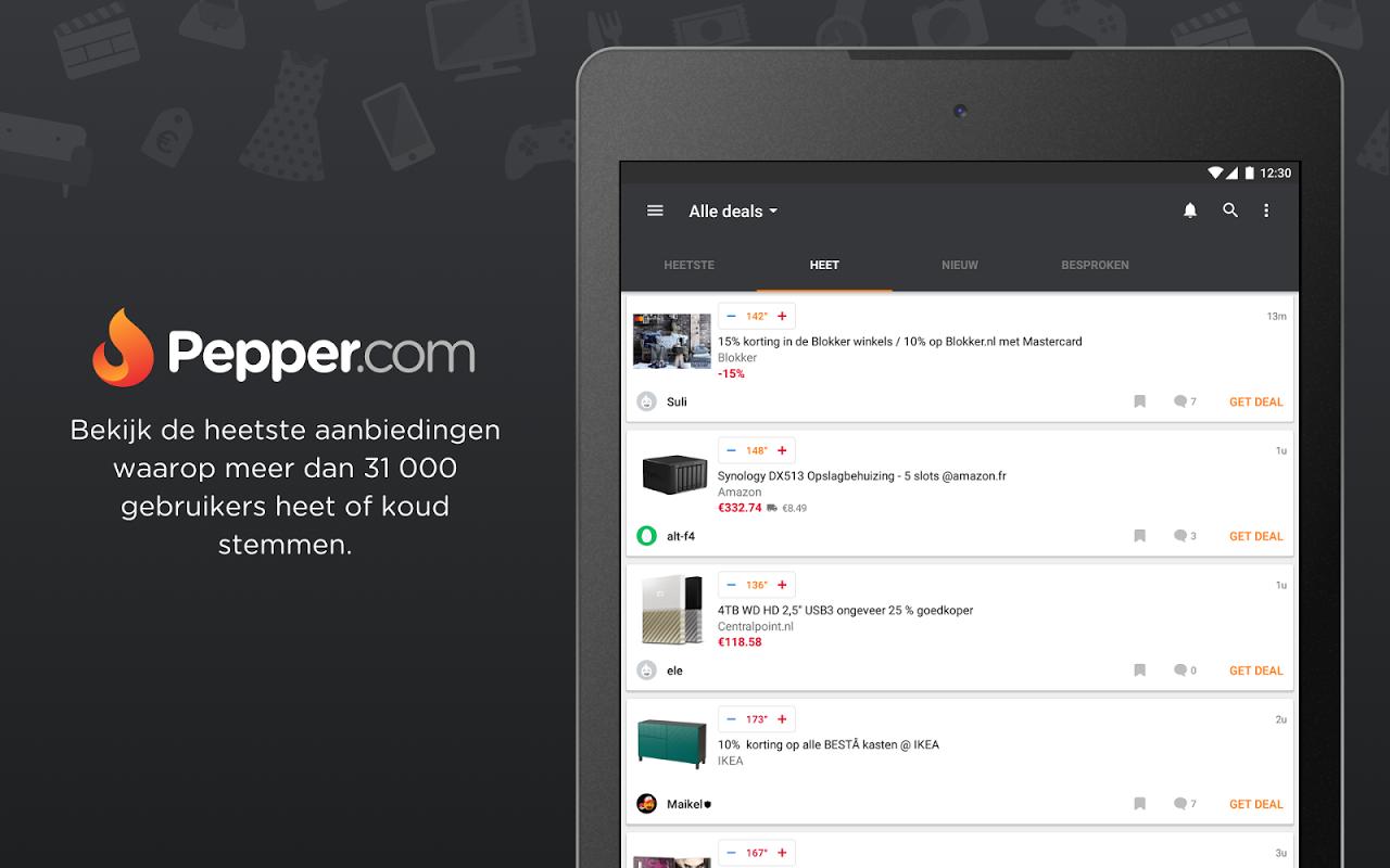 Android Pepper.com: De heetste deals Screen 10