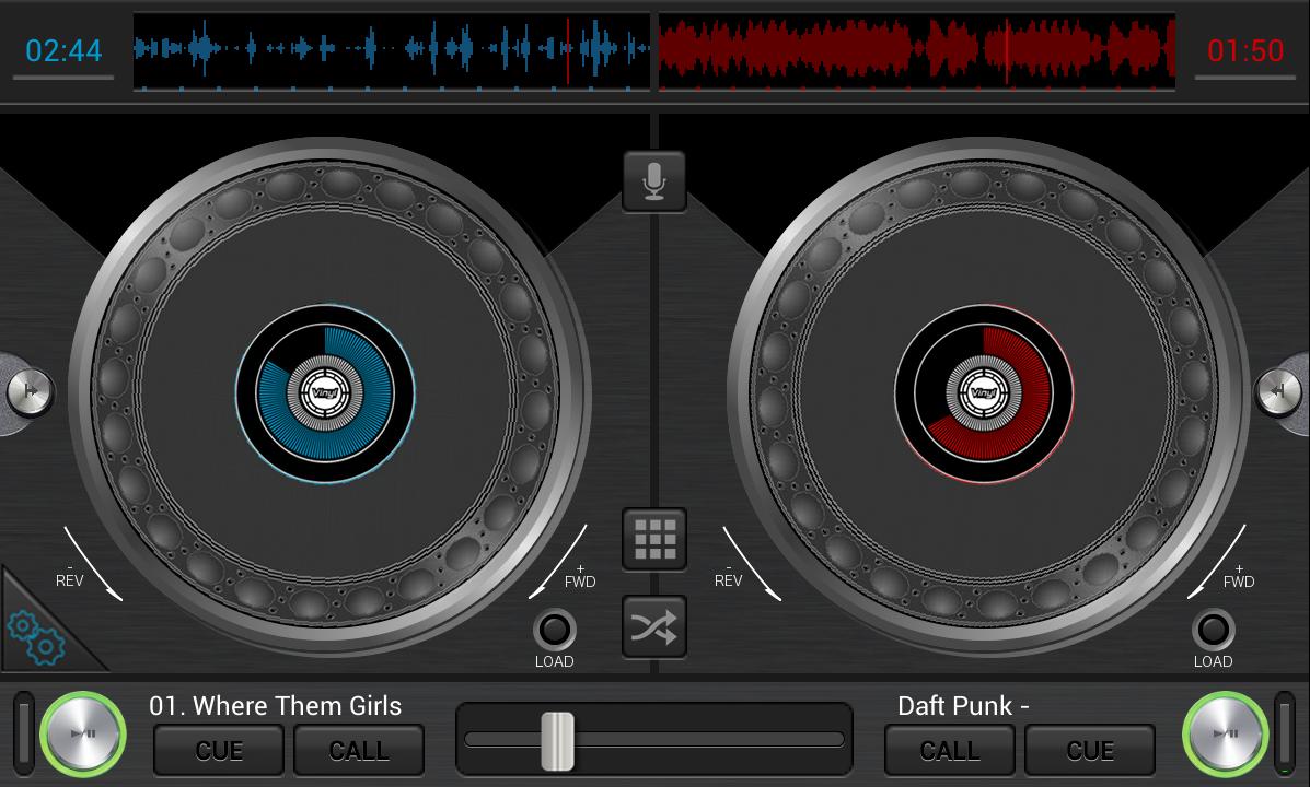 Android DJStudio Screen 3
