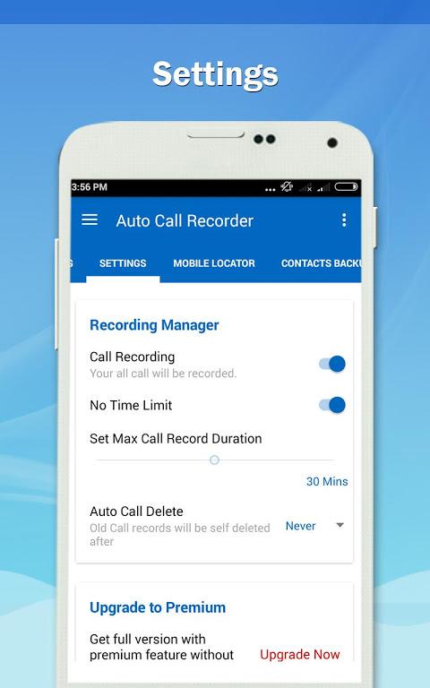 Auto Call Recorder PRO 1.11 Screen 1