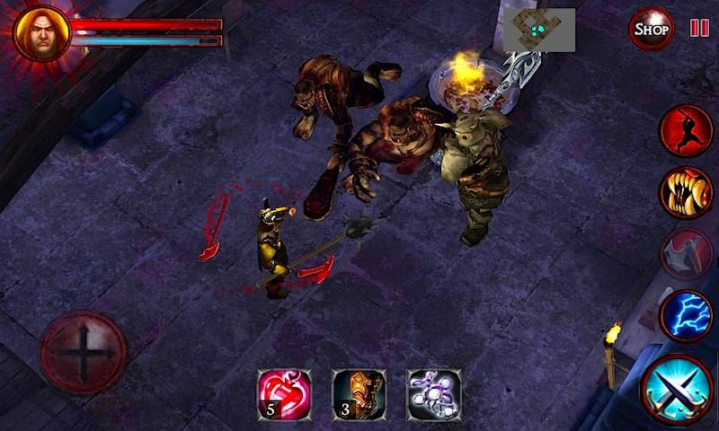 Android Dungeons and Demons  - RPG Quest Screen 3