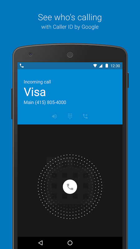 Google Dialer 1.2 Screen 1