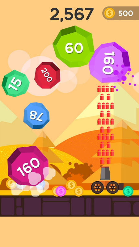 Android Ball Blast - Jump ball Screen 5