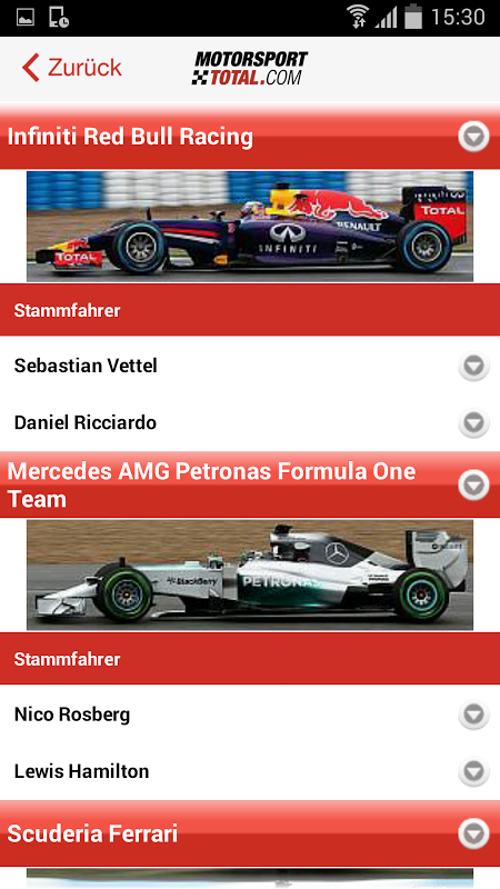 Android Motorsport-Total.com Screen 3