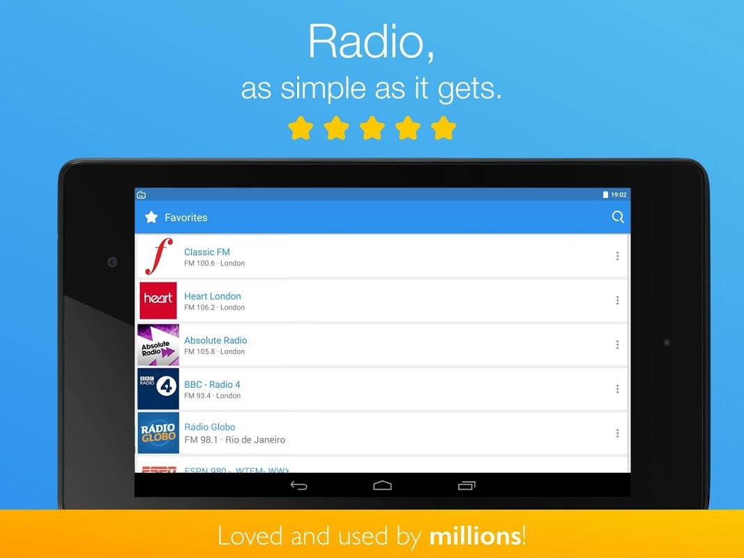Simple Radio - Free Live FM AM Radio & Music 2.6.2 Screen 7