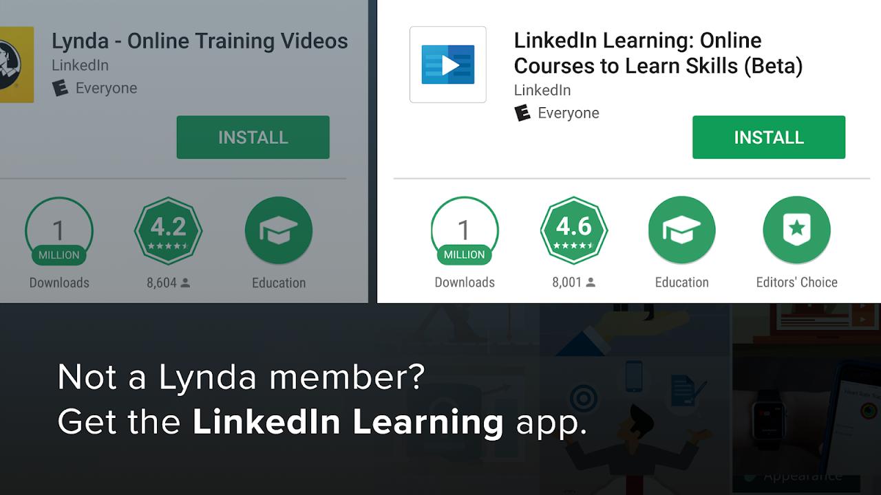 Android Lynda - Online Training Videos Screen 9
