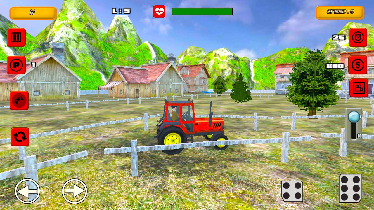 Tractor Farm Parking Drive 1.0 Screen 3