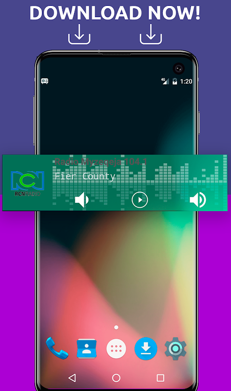 Android Free Colombia Radio AM FM Screen 3