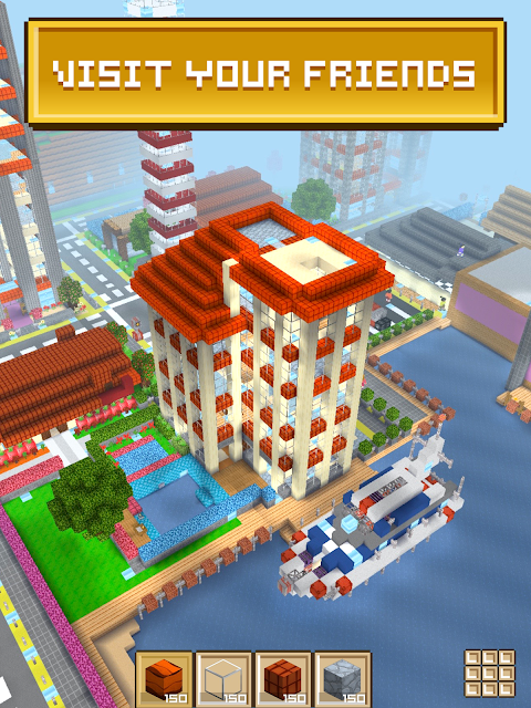 Android Block Craft 3D: Building Simulator Games For Free Screen 3