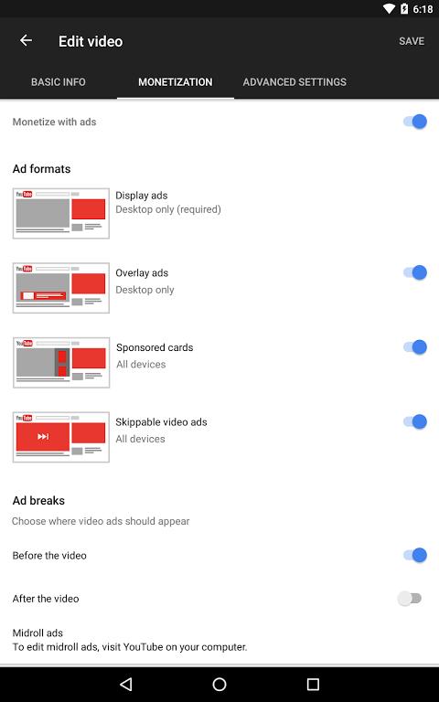YouTube Creator Studio 1.8.4 Screen 11