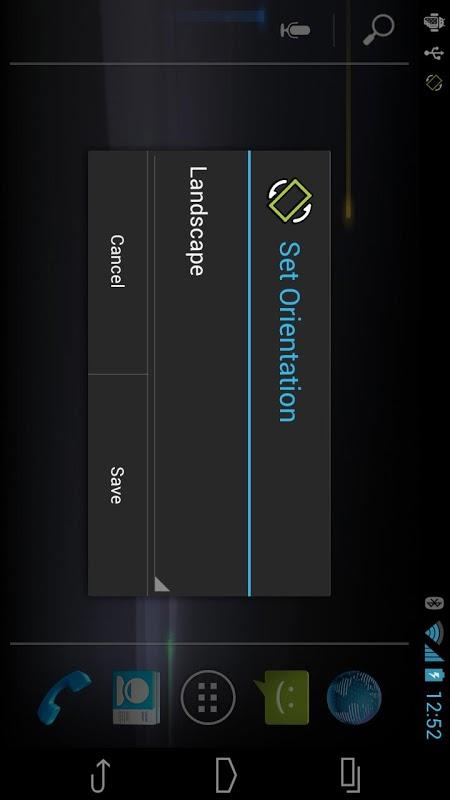 Set Orientation 1.1.4 Screen 1