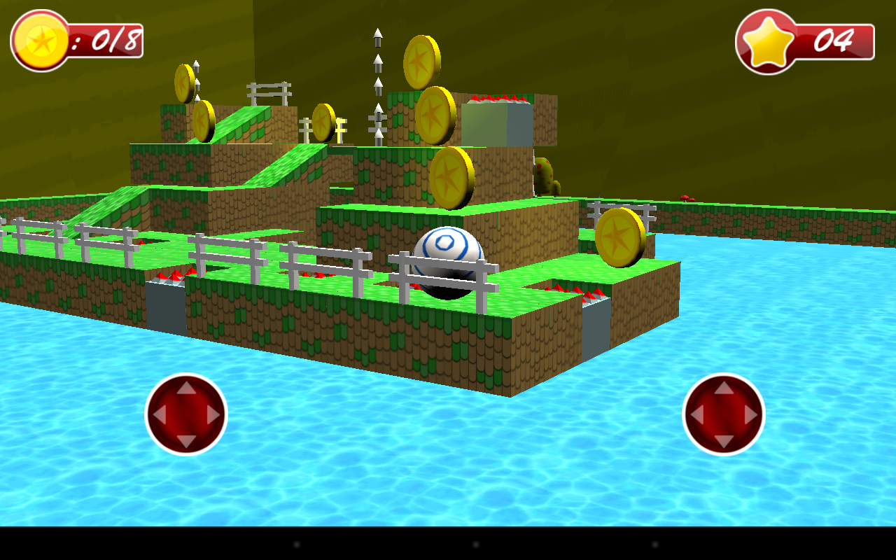 Android 3D Bouncing Ball Free Screen 10