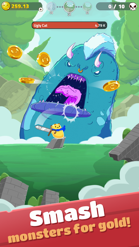 Hopeless Heroes: Tap Attack (Unreleased) 0.1.07 Screen 1