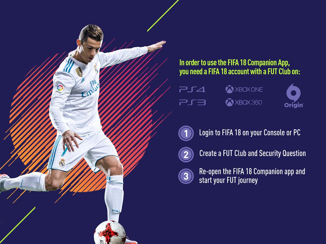 Android EA SPORTS™ FIFA 18 Companion Screen 5