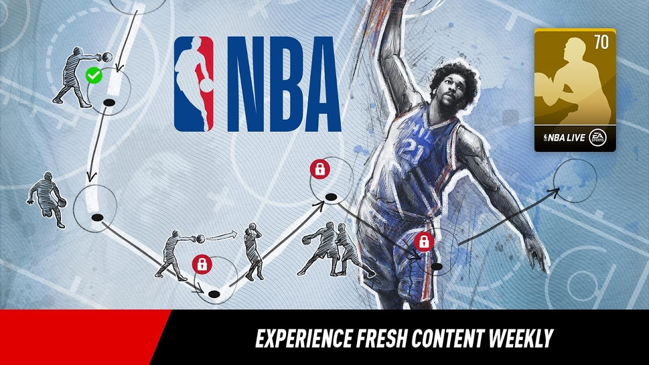 Android NBA LIVE Mobile Basketball Screen 2