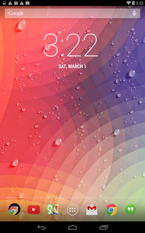 Android Weather - Weatherback and lock screen Screen 7