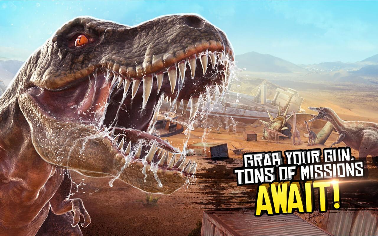 Android Best Sniper Legacy: Dino Hunt & Shooter 3D Screen 15