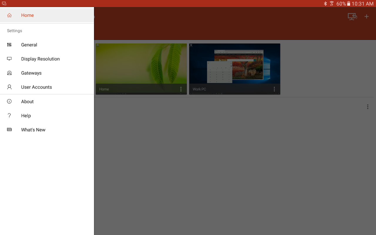 Microsoft Remote Desktop 8.1.50.255 Screen 9
