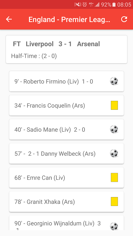 English Premier League 3.0 Screen 2