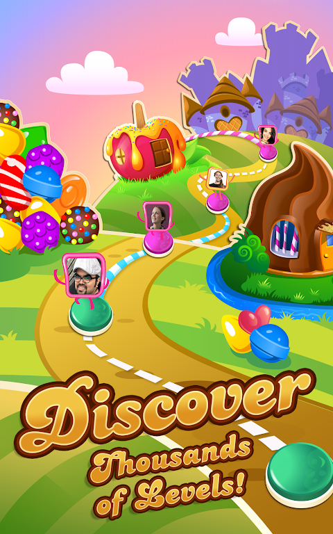 Android Candy Crush Saga Screen 2