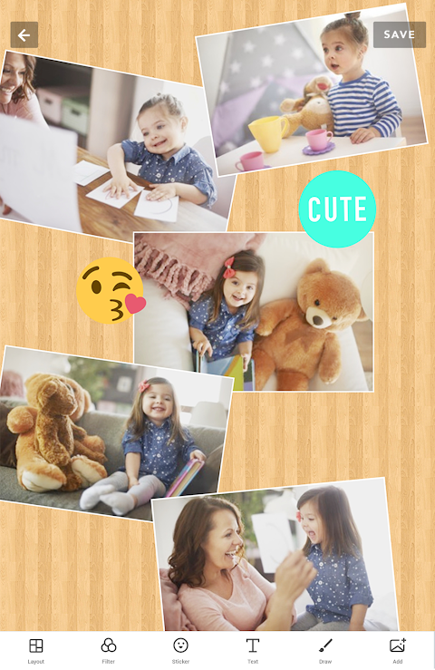 Android Collage Maker - Photo Editor Screen 8
