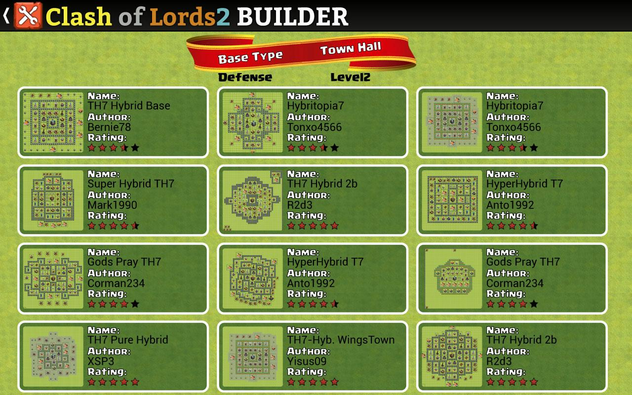Android Clash of Lords 2 Builder Screen 7