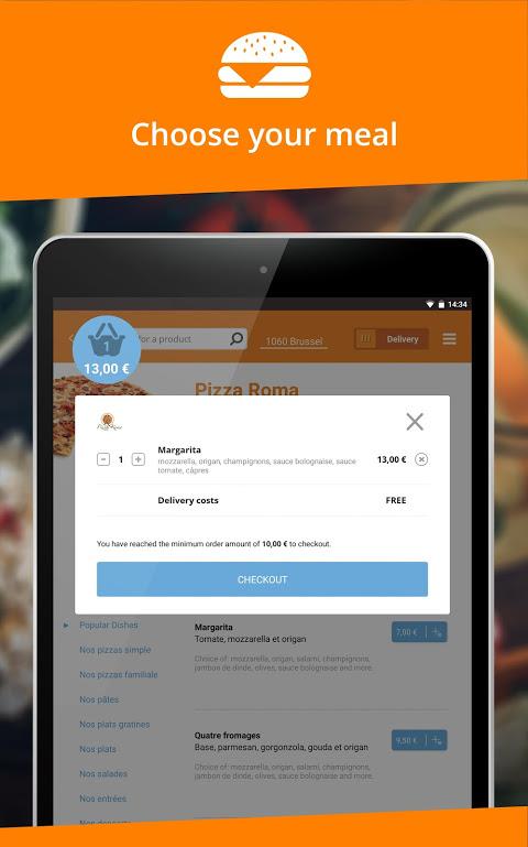 Takeaway.com - Belgium 4.22.2 Screen 5