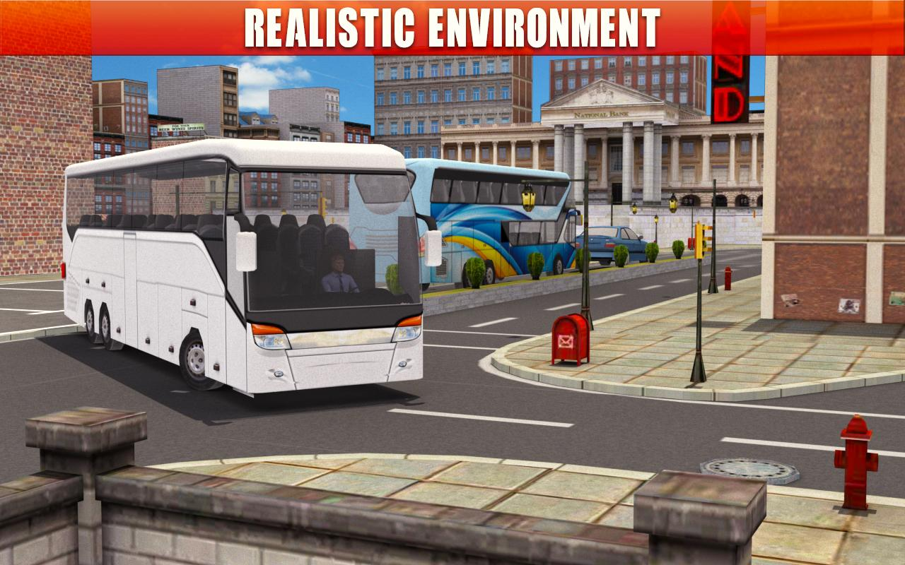 Android Bus Simulator Coach Driver Screen 1