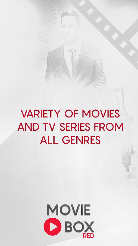 Android Movie Play Red: Free Online Movies, TV Shows Screen 1