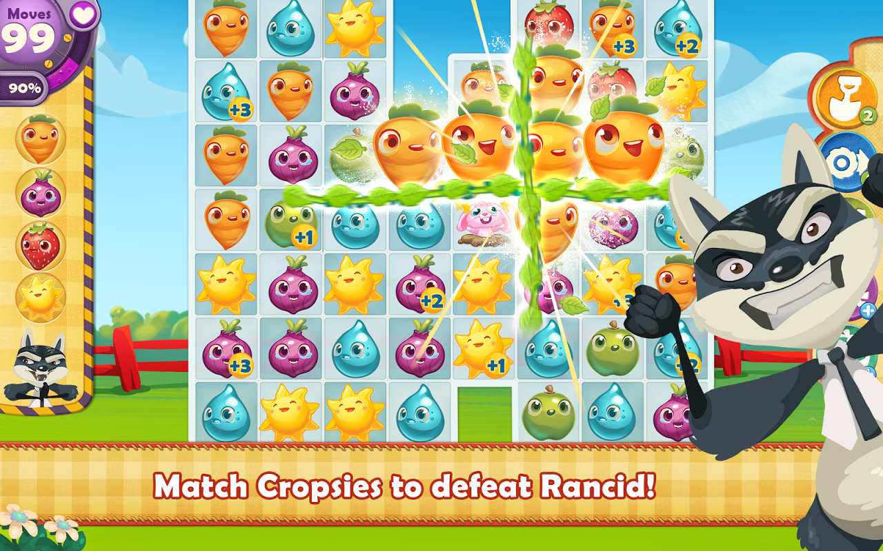 Android Farm Heroes Saga Screen 3