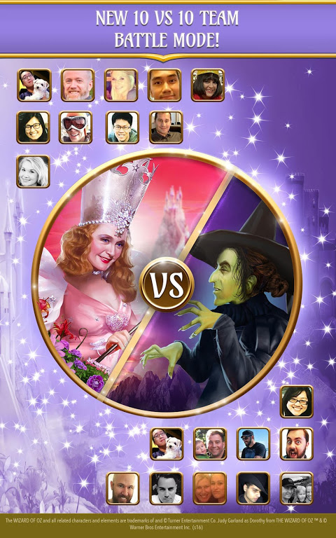 Android The Wizard of Oz Magic Match 3 Screen 14