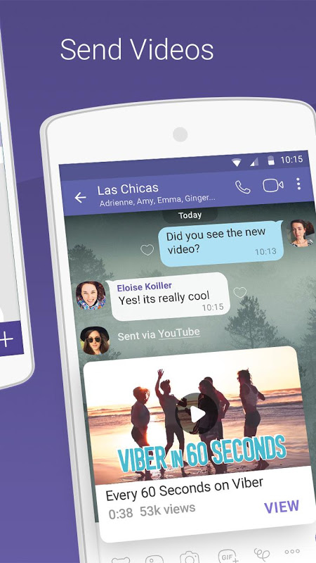 Android Viber Messenger Screen 5