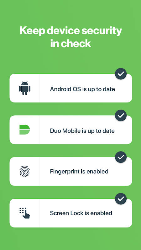 Android Duo Mobile Screen 3