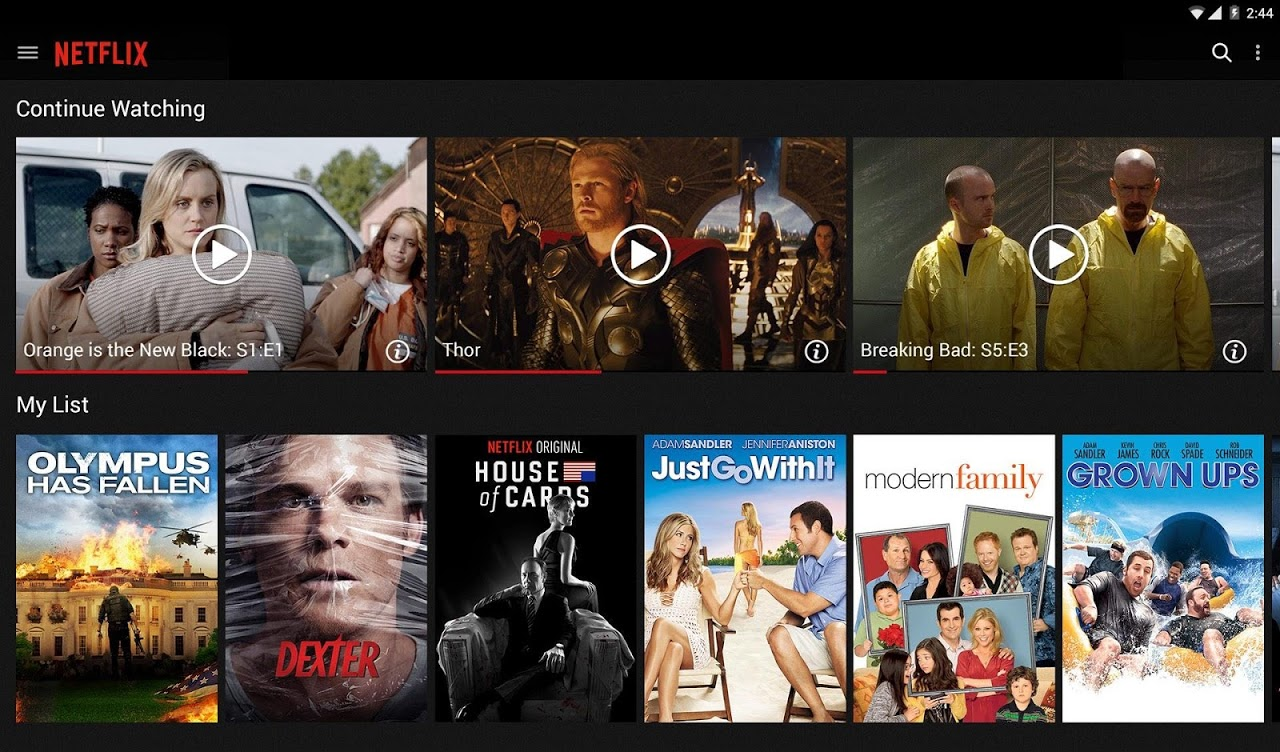 Android Netflix Screen 5