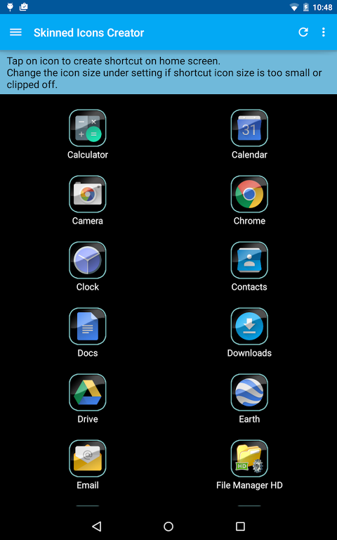 Skinned Icons Creator 2.1.0 Screen 6