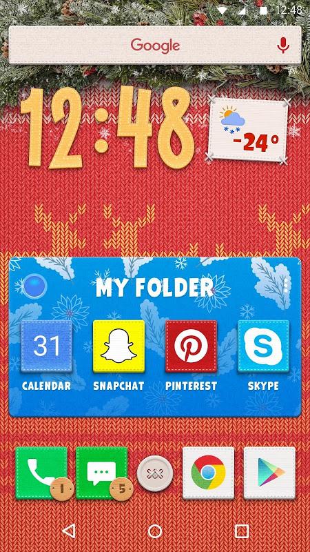 New Year Theme 1.0.3 Screen 3
