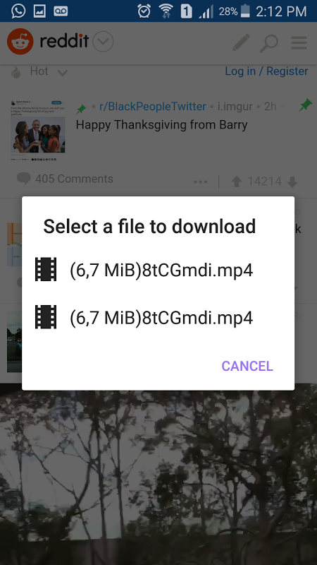 Android Durutube downloads vídeo Screen 1