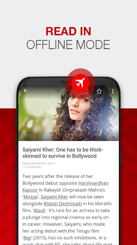 Android News by The Times of India Newspaper Screen 7