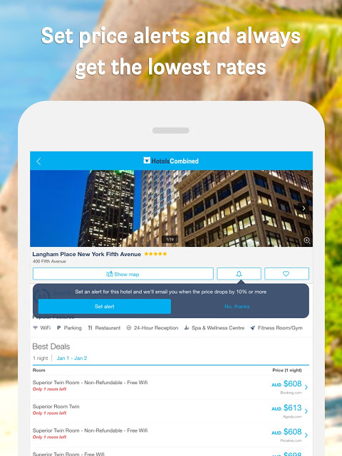 Hotels Combined - Cheap deals 5.0.54 Screen 4