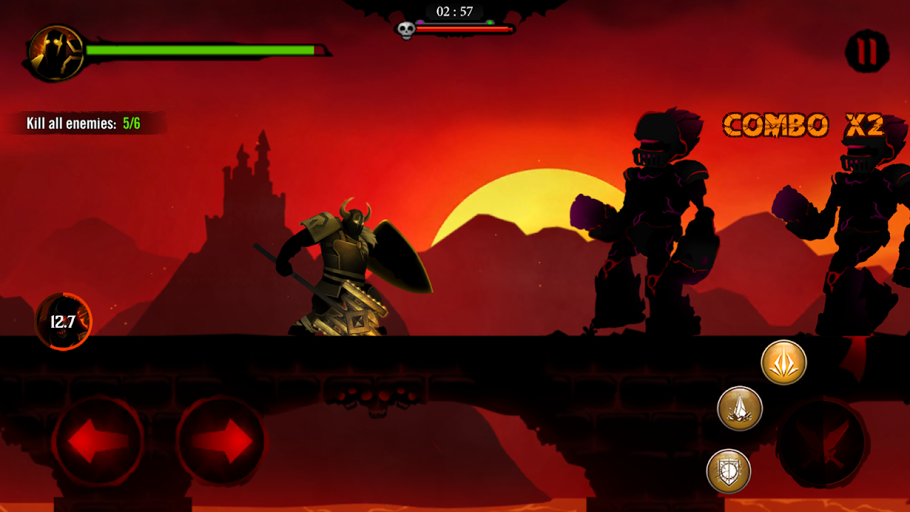 Android Shadow Stickman: Dark rising – Ninja warriors Screen 7