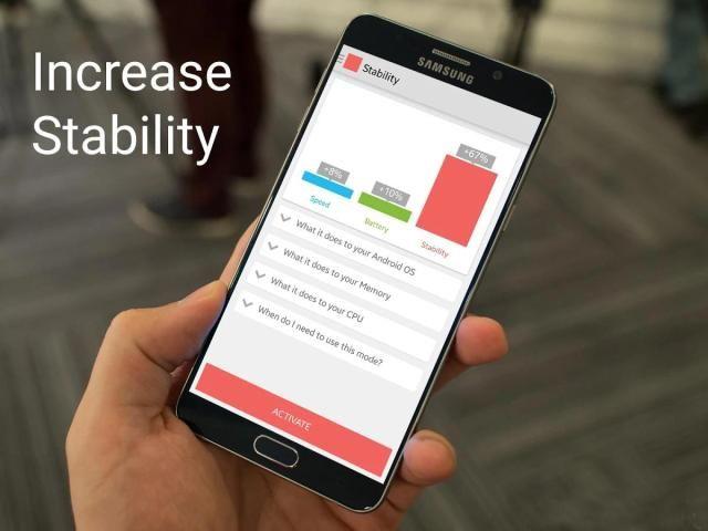 Android Quad-Core Processor Booster Screen 3
