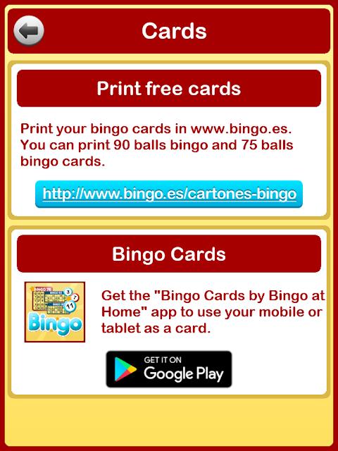 Bingo at Home 3.3.0 Screen 17