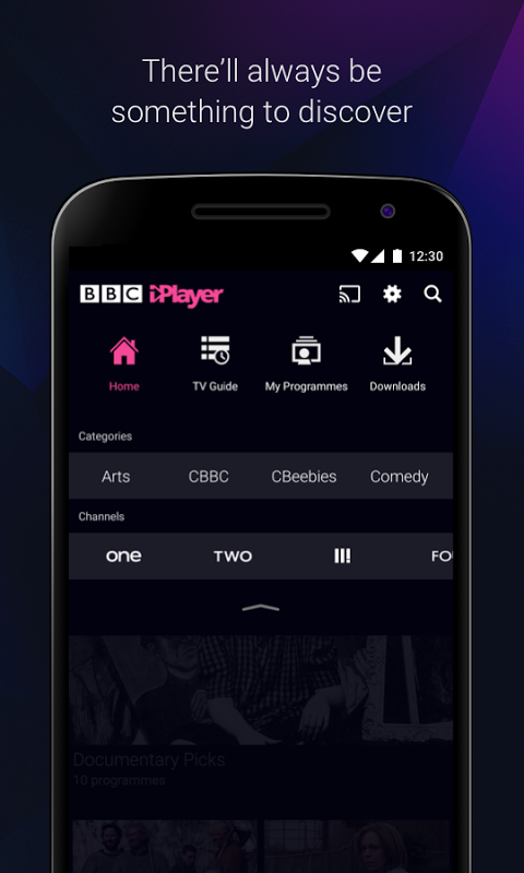 BBC iPlayer 4.38.0.3 Screen 2