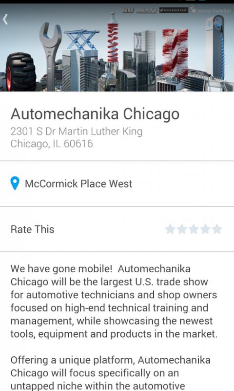 Android Automechanika Screen 1