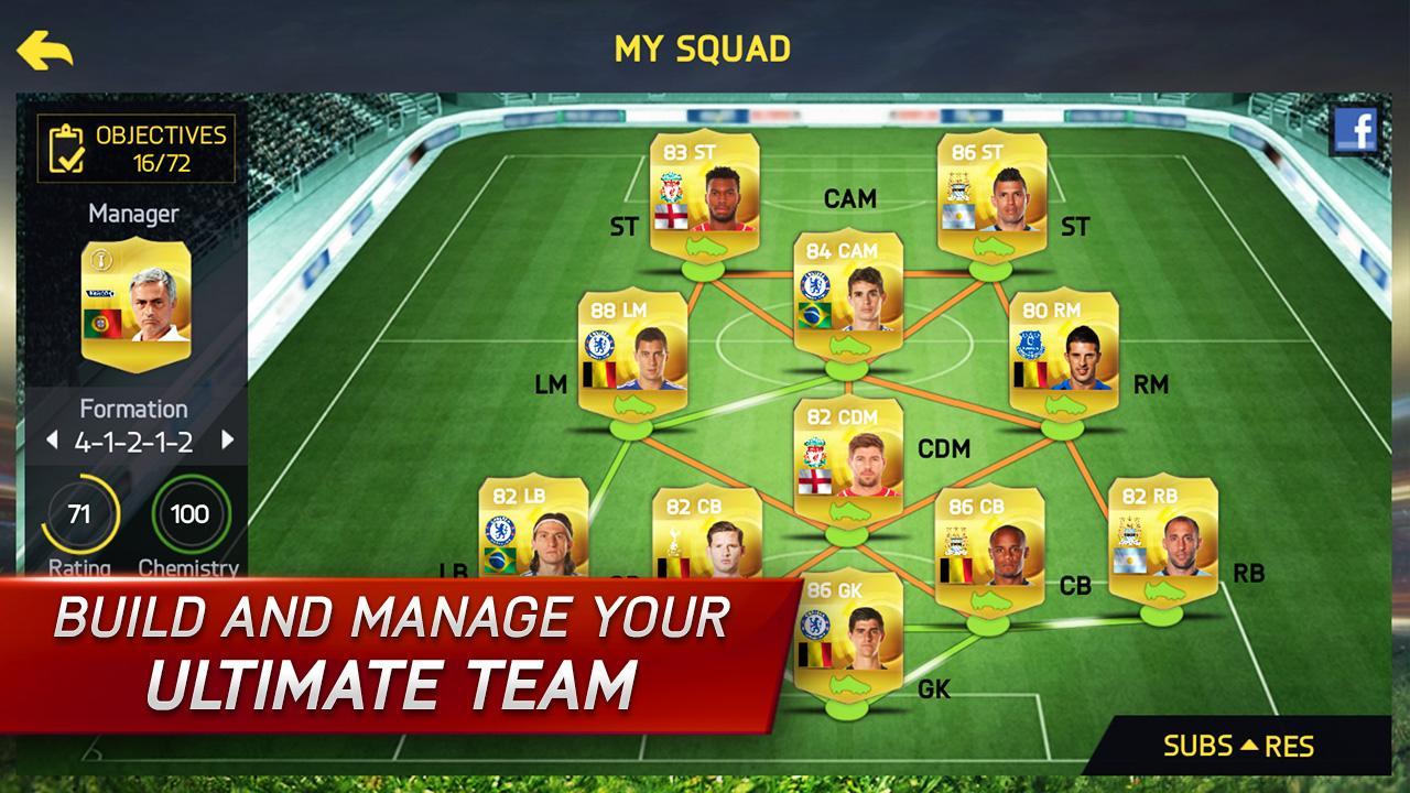 Android FIFA 15: UT Screen 7