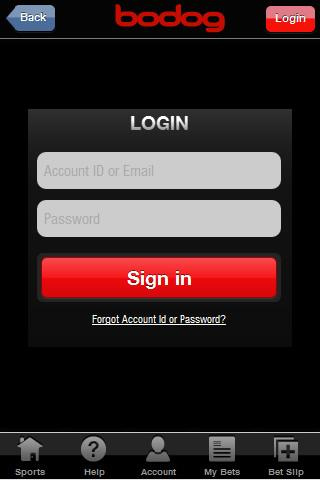 sign in sports bodog