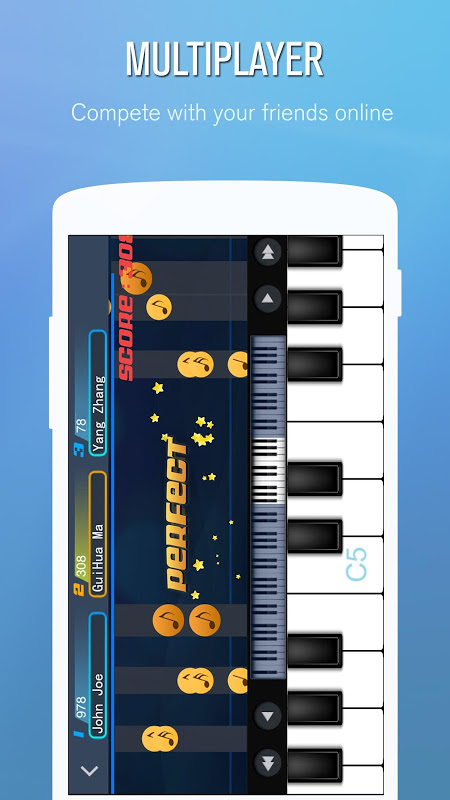 Android Perfect Piano Screen 4